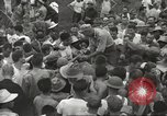 Image of American prisoners of war liberated from Japanese prison camp Guimba Philippines, 1945, second 57 stock footage video 65675062320