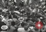 Image of American prisoners of war liberated from Japanese prison camp Guimba Philippines, 1945, second 58 stock footage video 65675062320