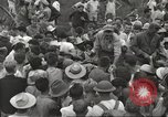 Image of American prisoners of war liberated from Japanese prison camp Guimba Philippines, 1945, second 59 stock footage video 65675062320