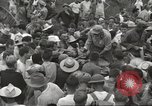 Image of American prisoners of war liberated from Japanese prison camp Guimba Philippines, 1945, second 60 stock footage video 65675062320