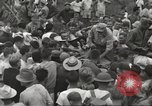 Image of American prisoners of war liberated from Japanese prison camp Guimba Philippines, 1945, second 61 stock footage video 65675062320