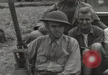 Image of Americans rescued from Japanese prison camp ride in trucks Luzon Island Philippines, 1945, second 27 stock footage video 65675062322