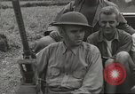 Image of Americans rescued from Japanese prison camp ride in trucks Luzon Island Philippines, 1945, second 28 stock footage video 65675062322