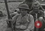 Image of Americans rescued from Japanese prison camp ride in trucks Luzon Island Philippines, 1945, second 29 stock footage video 65675062322