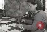 Image of French Red Cross workers Thionville France, 1945, second 58 stock footage video 65675062327