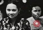 Image of Filipino women Philippines, 1945, second 13 stock footage video 65675062337