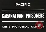 Image of American prisoners of war Philippines, 1945, second 2 stock footage video 65675062342