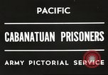 Image of American prisoners of war Philippines, 1945, second 5 stock footage video 65675062342