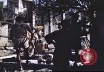 Image of Allied troops Intramuros Manila, 1945, second 6 stock footage video 65675062345