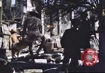 Image of Allied troops Intramuros Manila, 1945, second 8 stock footage video 65675062345
