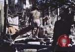 Image of Allied troops Intramuros Manila, 1945, second 9 stock footage video 65675062345