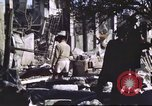 Image of Allied troops Intramuros Manila, 1945, second 11 stock footage video 65675062345
