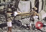 Image of Allied troops Intramuros Manila, 1945, second 20 stock footage video 65675062345
