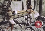 Image of Allied troops Intramuros Manila, 1945, second 21 stock footage video 65675062345