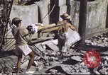 Image of Allied troops Intramuros Manila, 1945, second 22 stock footage video 65675062345