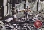 Image of Allied troops Intramuros Manila, 1945, second 27 stock footage video 65675062345
