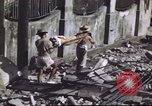 Image of Allied troops Intramuros Manila, 1945, second 28 stock footage video 65675062345