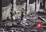 Image of Allied troops Intramuros Manila, 1945, second 29 stock footage video 65675062345