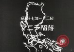 Image of Japanese positions Philippines, 1942, second 53 stock footage video 65675062352