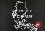 Image of Japanese positions Philippines, 1942, second 55 stock footage video 65675062352