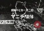 Image of Japanese positions Philippines, 1942, second 56 stock footage video 65675062352