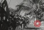 Image of Japanese Infantry marching into Philippines Philippines, 1942, second 49 stock footage video 65675062373