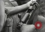 Image of Japanese infantrymen Bataan Luzon Philippines, 1942, second 51 stock footage video 65675062389