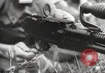 Image of Japanese infantrymen Bataan Luzon Philippines, 1942, second 55 stock footage video 65675062389