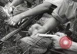 Image of Japanese infantrymen Bataan Luzon Philippines, 1942, second 59 stock footage video 65675062389