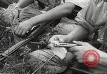 Image of Japanese infantrymen Bataan Luzon Philippines, 1942, second 60 stock footage video 65675062389