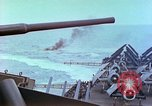 Image of aircraft carrier Pacific Ocean, 1944, second 34 stock footage video 65675062399