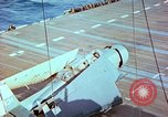 Image of aircraft carrier Pacific Ocean, 1944, second 37 stock footage video 65675062399