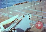 Image of aircraft carrier Pacific Ocean, 1944, second 38 stock footage video 65675062399