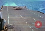 Image of aircraft carrier Pacific Ocean, 1944, second 41 stock footage video 65675062399