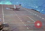 Image of aircraft carrier Pacific Ocean, 1944, second 42 stock footage video 65675062399