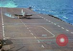Image of aircraft carrier Pacific Ocean, 1944, second 43 stock footage video 65675062399