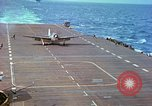 Image of aircraft carrier Pacific Ocean, 1944, second 45 stock footage video 65675062399