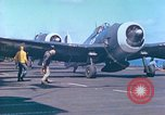 Image of aircraft carrier Pacific Ocean, 1944, second 52 stock footage video 65675062399