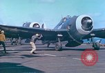 Image of aircraft carrier Pacific Ocean, 1944, second 53 stock footage video 65675062399