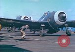 Image of aircraft carrier Pacific Ocean, 1944, second 54 stock footage video 65675062399