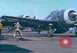 Image of aircraft carrier Pacific Ocean, 1944, second 55 stock footage video 65675062399