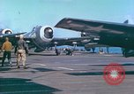 Image of aircraft carrier Pacific Ocean, 1944, second 57 stock footage video 65675062399