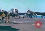 Image of aircraft carrier Pacific Ocean, 1944, second 58 stock footage video 65675062399