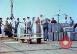 Image of aircraft carrier Pacific Ocean, 1944, second 24 stock footage video 65675062400
