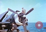 Image of aircraft carrier Pacific Ocean, 1944, second 2 stock footage video 65675062401
