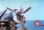 Image of aircraft carrier Pacific Ocean, 1944, second 3 stock footage video 65675062401