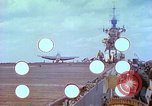 Image of aircraft carrier Pacific Ocean, 1944, second 8 stock footage video 65675062401