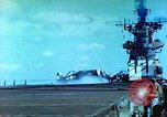 Image of aircraft carrier Pacific Ocean, 1944, second 30 stock footage video 65675062401