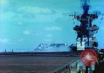 Image of aircraft carrier Pacific Ocean, 1944, second 31 stock footage video 65675062401