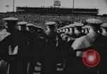 Image of Army Navy football game United States USA, 1949, second 41 stock footage video 65675062403